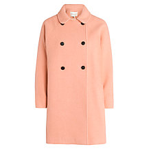 Buy Paul & Joe Sister Teddie Coat, Orange Online at johnlewis.com