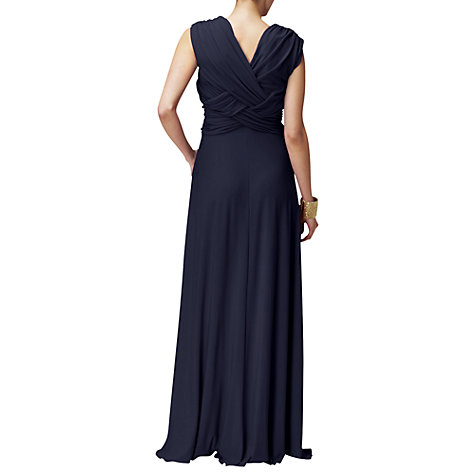 Buy Phase Eight Monica Maxi Dress, Navy Online at johnlewis.com