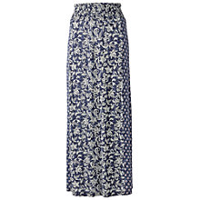Buy Fat Face Summer Ethnic Patchwork Maxi Skirt, Navy Online at johnlewis.com