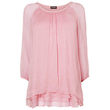 Buy Phase Eight Made in Italy Pietra Silk Blouse, Blossom Online at johnlewis.com