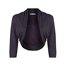 Buy Jacques Vert Sparkle Lurex Knit Bolero Online at johnlewis.com
