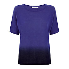Buy Windsmoor Ombre Linen Jumper, Colbalt Blue Online at johnlewis.com