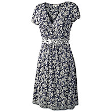 Buy Fat Face Camille Ethnic Wrap Dress, Navy Online at johnlewis.com