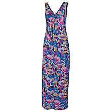 Buy Fat Face Makita Foral Maxi Dress, Multi Online at johnlewis.com