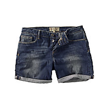 Buy Fat Face Denim Shorts, Vintage Online at johnlewis.com