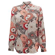Buy East Nobu Print Shirt, Mist Online at johnlewis.com