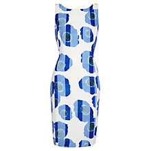 Buy Damsel in a dress Blue Alaska Print Dress, Pale Blue Online at johnlewis.com