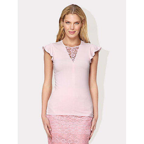 Buy Damsel in a dress Marico Top, Pink Online at johnlewis.com