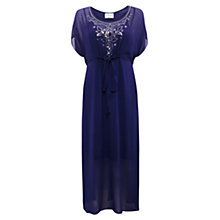 Buy East Sequin Georgette Maxi Dress, Amethyst Online at johnlewis.com