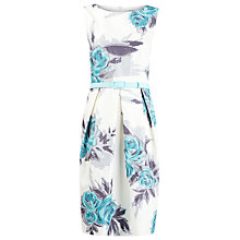 Buy Precis Petite Floral Print Shift Dress, Multi Light Online at johnlewis.com