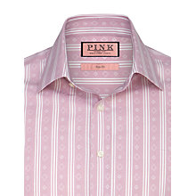 Buy Thomas Pink Kimber Stripe Diamond Print Shirt Online at johnlewis.com