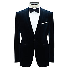 Buy John Lewis Velvet Shawl Collar Jacket Online at johnlewis.com