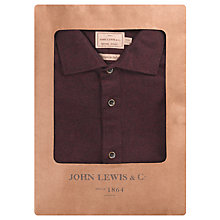 Buy JOHN LEWIS & Co. Stanhope Brushed Melton Shirt Online at johnlewis.com