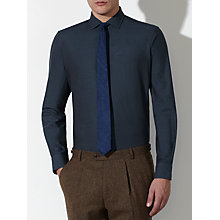 Buy JOHN LEWIS & Co. Hereford Brushed Twill Shirt, Indigo Online at johnlewis.com