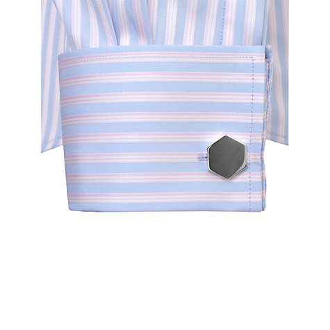 Buy Thomas Pink Weaver Stripe Double Cuff Shirt Online at johnlewis.com