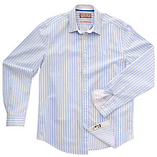 Buy Thomas Pink Gallardo Stripe Long Sleeve Shirt, White/Blue Online at johnlewis.com