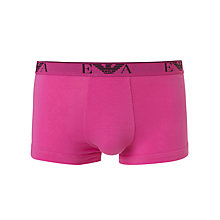 Buy Emporio Armani Cotton Stretch Trunks Online at johnlewis.com