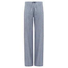 Buy Jigsaw Tribal Geo Trousers, Blue Online at johnlewis.com