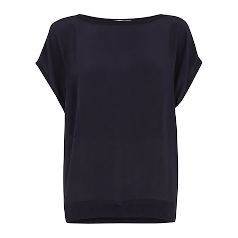 Buy Fenn Wright Manson Dion Top, Navy Online at johnlewis.com