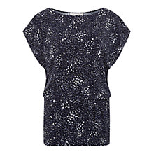 Buy Fenn Wright Manson Fleur Top, Navy / Ivory Online at johnlewis.com