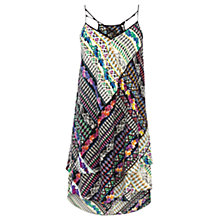 Buy Warehouse Double Layer Print Cami Dress, Multi Online at johnlewis.com