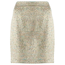 Buy Jigsaw Pastel Tweed Mini Skirt, Multi Online at johnlewis.com