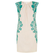 Buy Fenn Wright Manson Frances Dress, Buff / Aqua Online at johnlewis.com