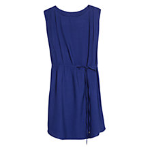 Buy Mango Belted Dress, Dark Blue Online at johnlewis.com