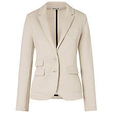 Buy Whistles Lena Jersey Blazer, Neutral Online at johnlewis.com