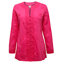 Buy East Embroidered Kurta, Azalea Online at johnlewis.com