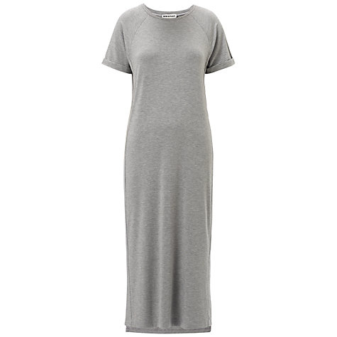 Buy Whistles Split Hem Midi Dress, Grey Online at johnlewis.com