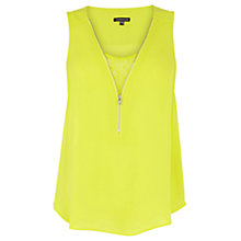 Buy Warehouse Lace Insert Vest Online at johnlewis.com