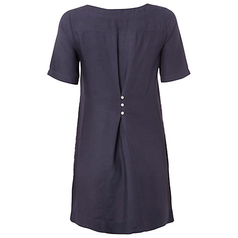 Buy White Stuff Delphinium Tunic Top, Dark Periwinkle Online at johnlewis.com