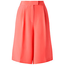 Buy Whistles Adrianne Bermuda Shorts, Coral Online at johnlewis.com