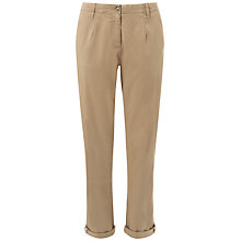 Buy Whistles Avery Chinos, Taupe Online at johnlewis.com