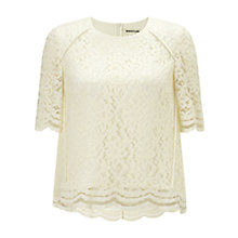 Buy Whistles Leith Lace Top Online at johnlewis.com