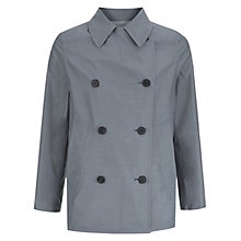 Buy Aquascutum Horowitz Reversible Jacket, Blue/Beige Online at johnlewis.com