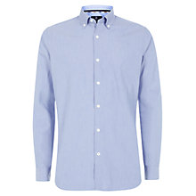 Buy Aquascutum Stephen Long Sleeve Shirt, Blue Online at johnlewis.com