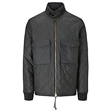 Buy Barbour International Dept. B Reactor Quilted Jacket, Graphite Online at johnlewis.com