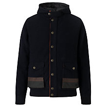Buy Barbour Stenner Lambswool Hooded Jacket Online at johnlewis.com