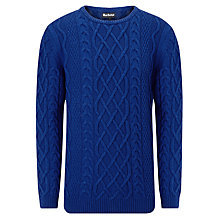 Buy Barbour Kirktown Cable Knit Jumper Online at johnlewis.com