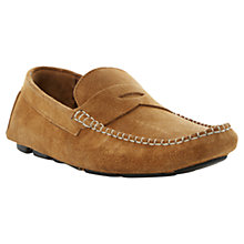 Buy Dune Bumper Suede Driving Penny Loafers Online at johnlewis.com