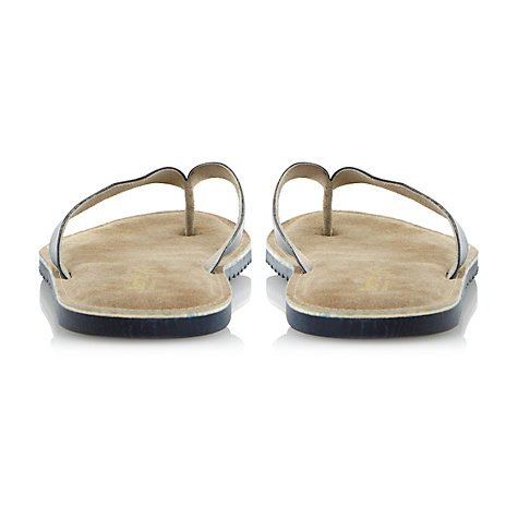 Buy Bertie Franco Sporty Leather Flip Flops Online at johnlewis.com