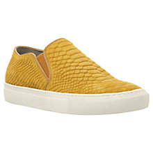 Buy Dune Tamagotchi Slip-On Shoes, Mustard Online at johnlewis.com