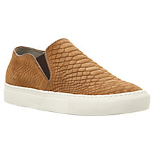 Buy Dune Tamagotchi Slip On Shoes, Tan Online at johnlewis.com