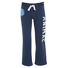 Buy Animal Boys' Erial Logo Joggers, Navy Online at johnlewis.com