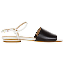 Buy Hobbs Leah Leather Sandals Online at johnlewis.com