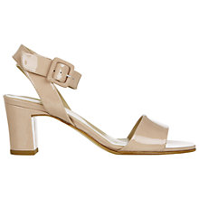 Buy Hobbs Coco Sandals, Light Nude Online at johnlewis.com