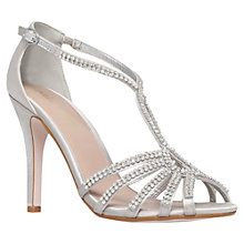 Buy Miss KG Pippa2 High Heel Occasion Shoes, Silver Online at johnlewis.com