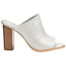 Buy Whistles Fee Leather Block Heel Sandals Online at johnlewis.com